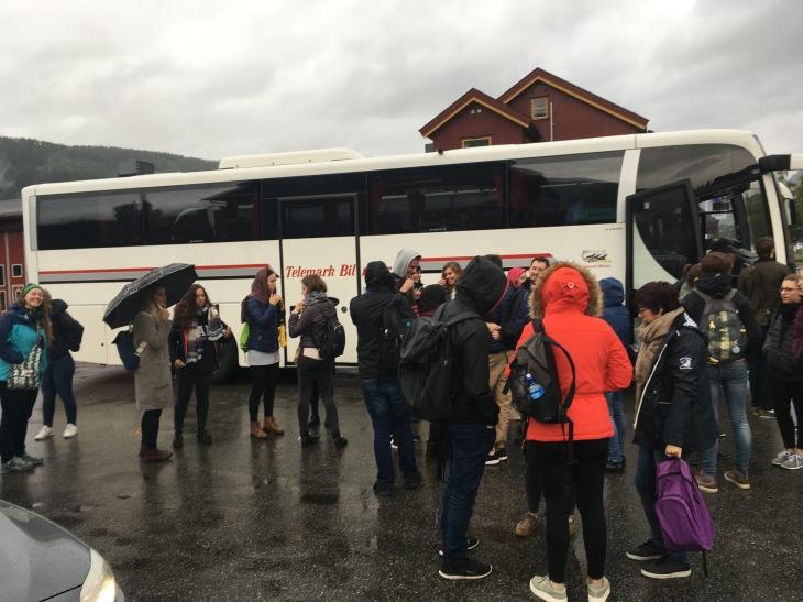 Arriving in Seljord